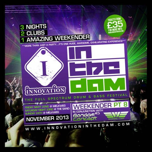 Innovation In The Dam 2013 flyer