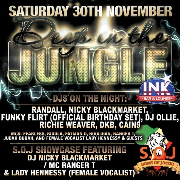 Deep In The Jungle flyer