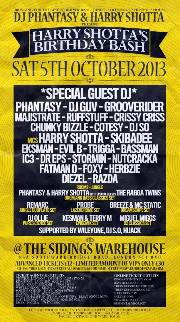 Harry Shotta Warehouse