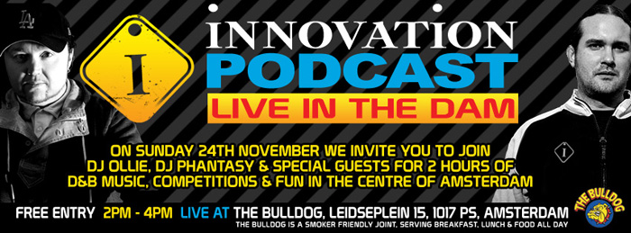 Innovation Podcast live In The Dam