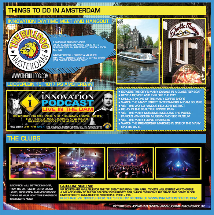 Innovation Spring Break - Amsterdam
