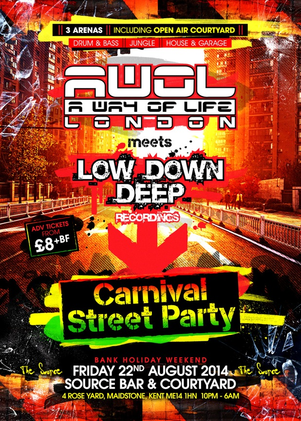 AWOL / Low Down Deep Street Party