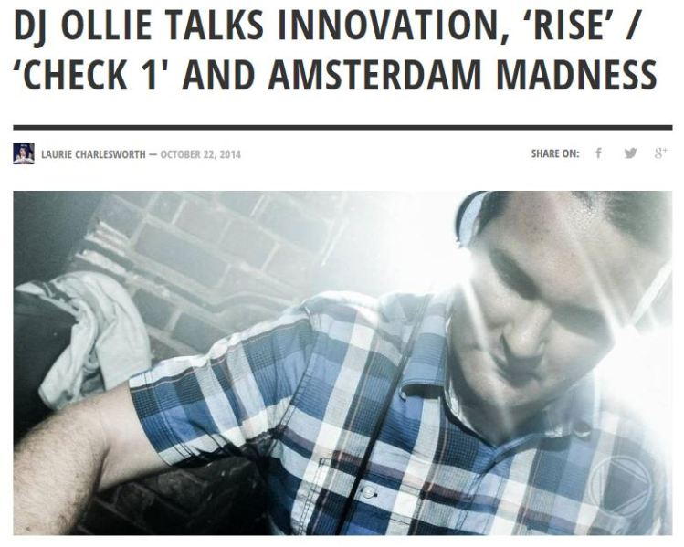 DJ Ollie talks to BassExplorer.com