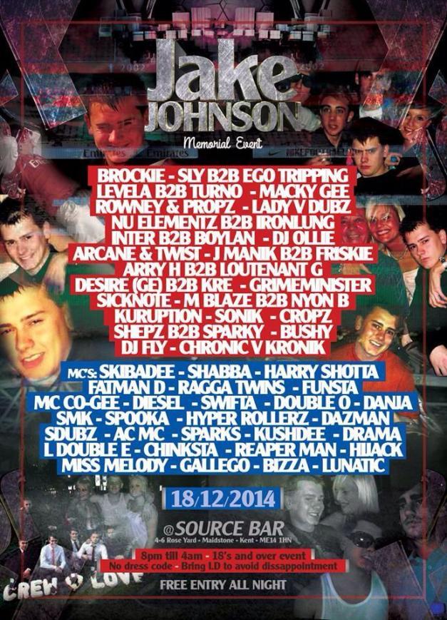 Jake Johnson Memorial Rave