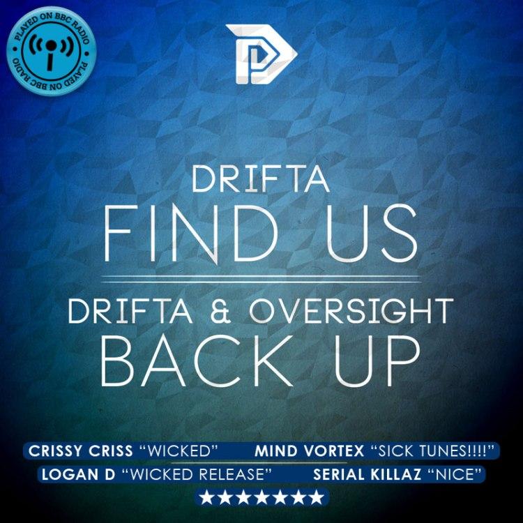 Drifa - Find Us / Back Up - DIR025