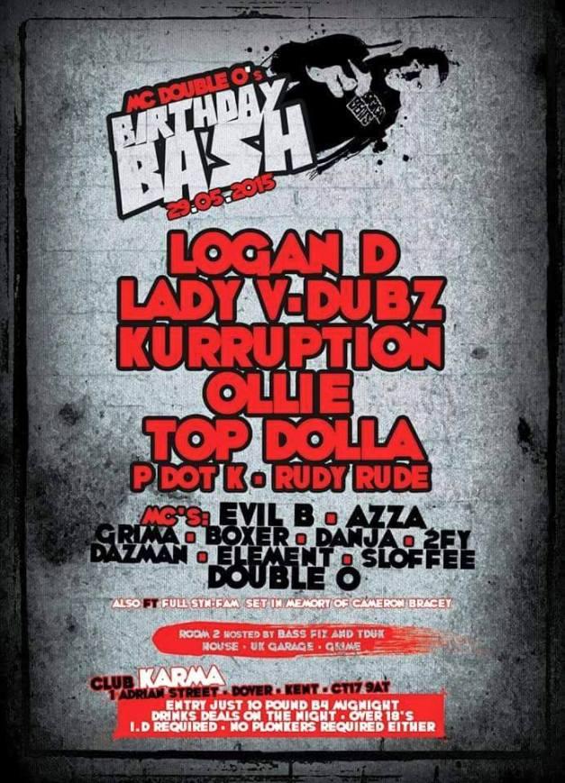 MC Double O's Birthday Bash