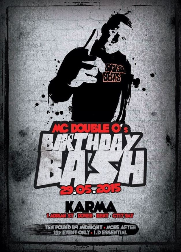 MC Double O's Birthday Bash