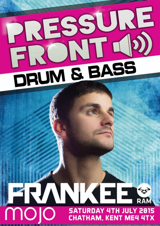PRESSURE FRONT >> FRANKEE [RAM RECORDS] | MC FIVE ALIVE | DJ OLLIE | RICHIE WEAVER & MORE