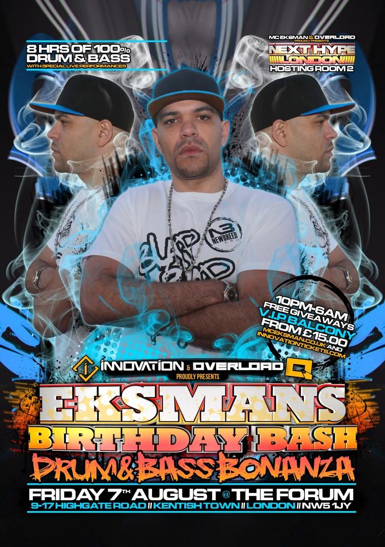 Eksman's Birthday Bash 2015