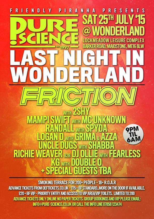 Pure Science - Last night in Wonderland