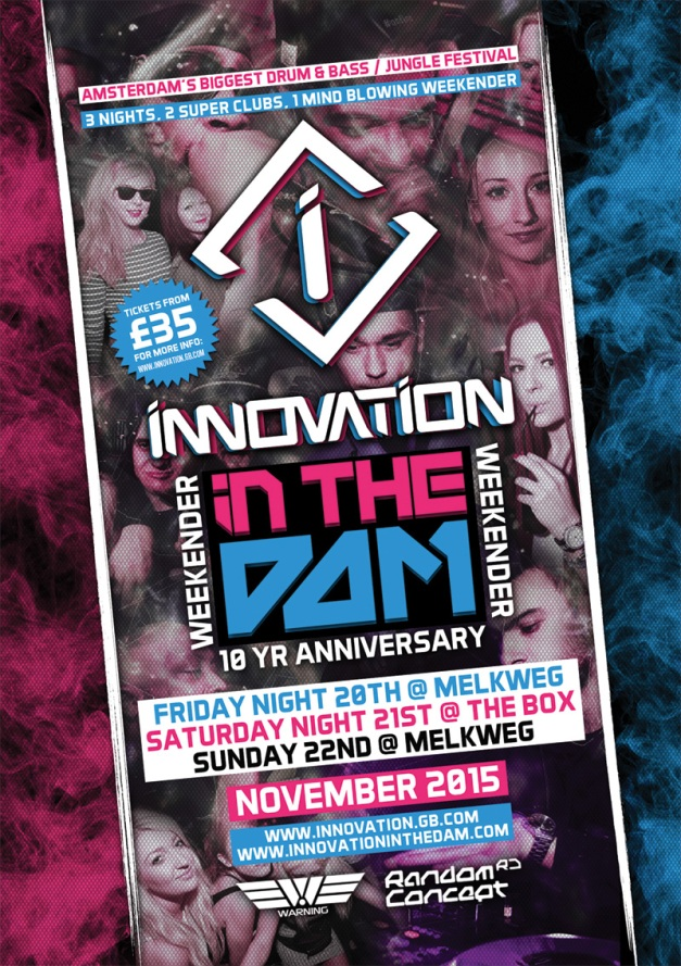 Innovation in The Dam 2015