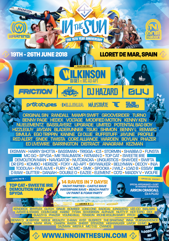 Innovation-In-The-Sun-2018-lineup